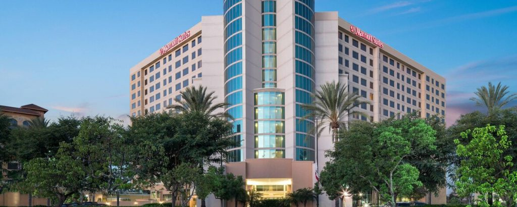 Marriot Anaheim hotel exterior